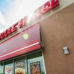 huddle house exterior images