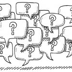 Question Mark Speech Bubbles Drawing