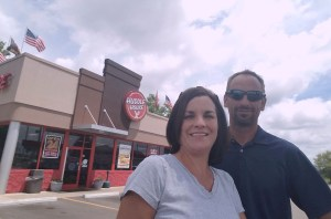 Huddle House franchisee Angie Britton