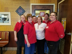 Huddle House franchise restaurant employees