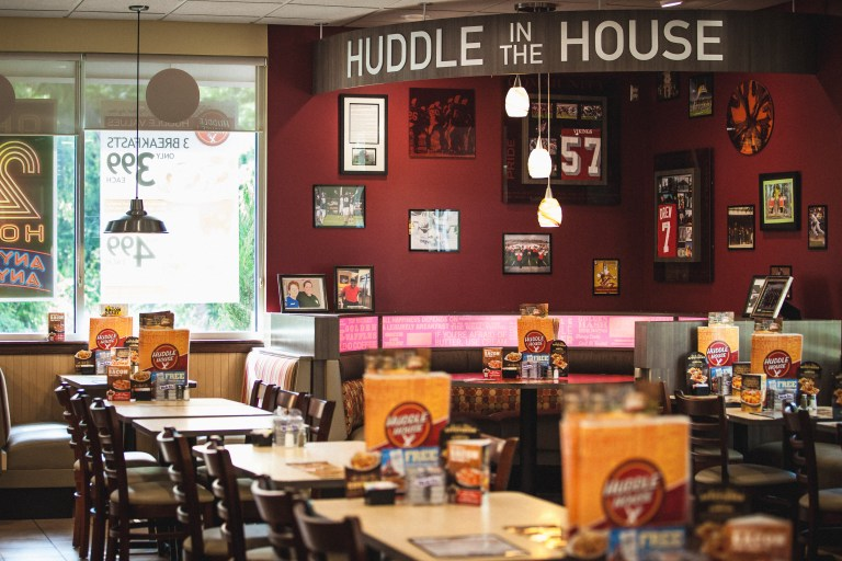 Huddle house interior