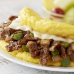 Philly Cheesesteake omelet