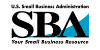 SBA Small Business Loans Logo