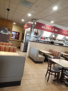 Huddle House Fort Worth, TX interior
