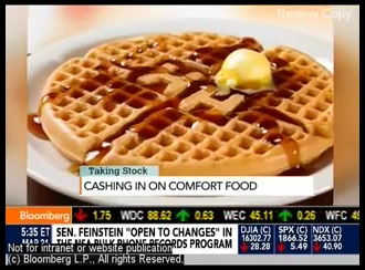 Huddle House featured on Taking Stock