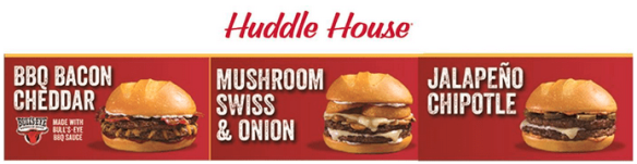 Huddle House burgers
