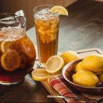 Lemonade in pitcher and glass