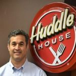 Huddle House Logo with Man